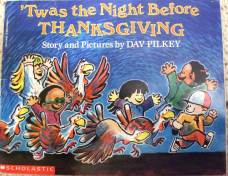 Image result for twas the night before thanksgiving