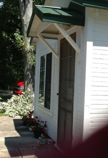 The welcoming cottage, the away place.